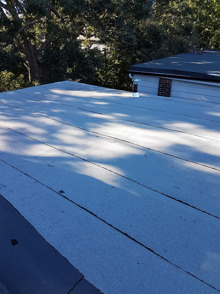 snow on flat roofs flat roofing ace roofing services inc