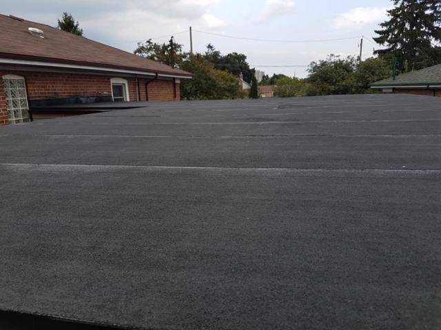 Flat Roof - Ace Roofing Services Inc. - Toronto