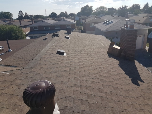 Roof with Vents
