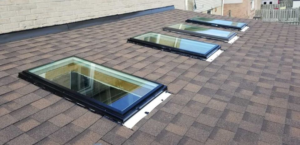 Skylight replacement - April 2020 - After